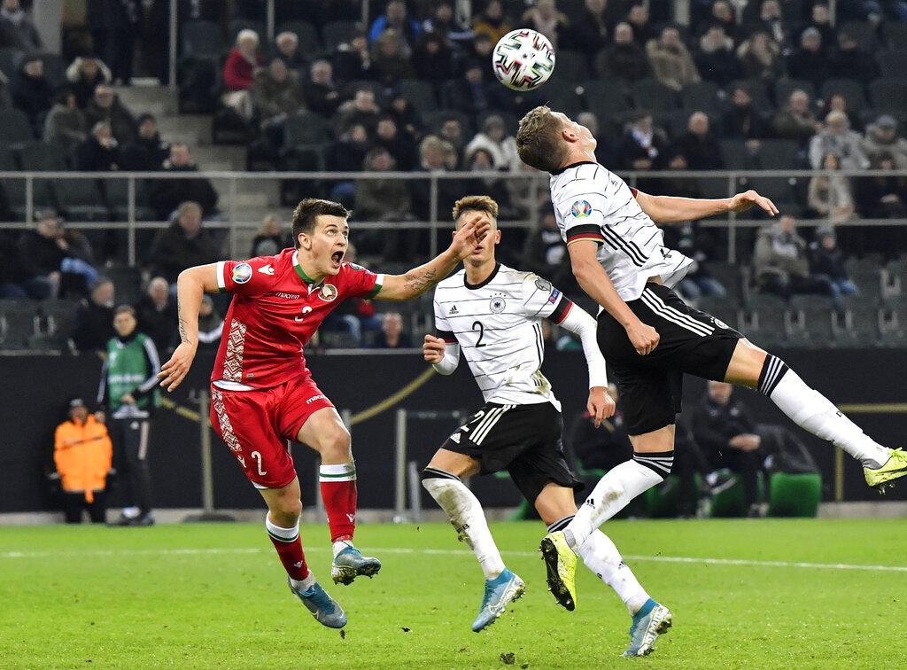 ألمانيا تسحق روسيا البيضاء وتتأهل ليورو 2020