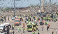 مصر: قتلى وجرحى في انهيار برج كهرباء