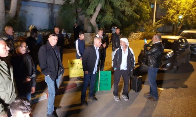 """تظاهرة في النقب ضد """"وزير الهدم"""" والخارجين عن الإجماع الشعبي"""