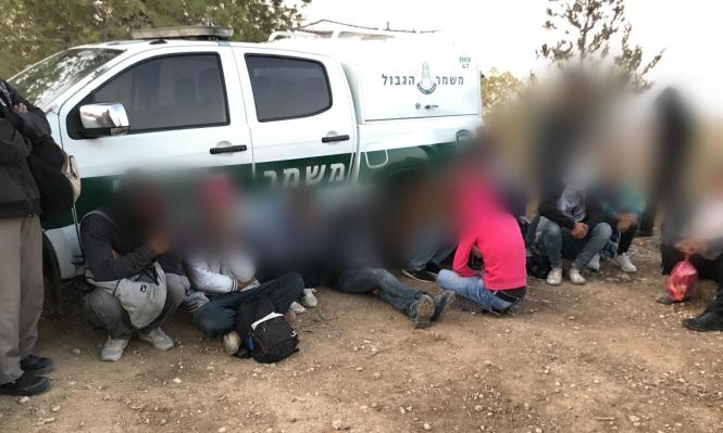 شرطة الاحتلال تعتقل 80 عاملا من الخليل