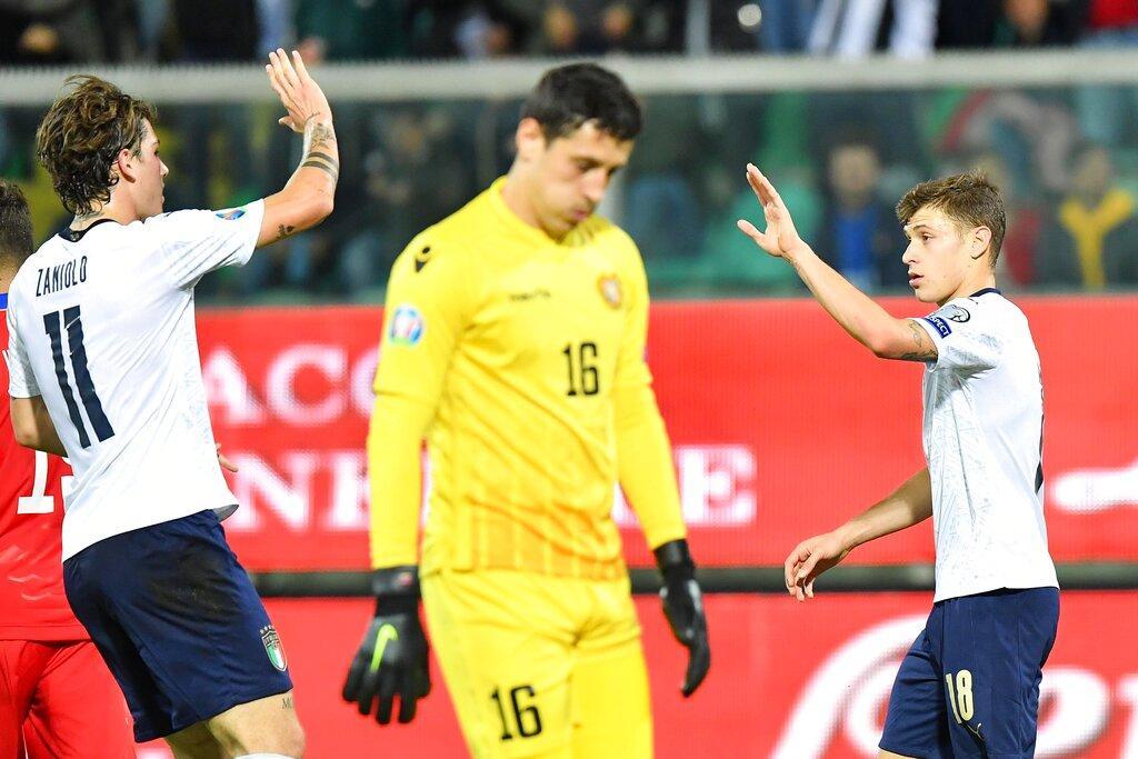 يورو 2020: إيطاليا تختتم مشوار التصفيات بفوز كاسح