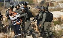 اعتقال 17 فلسطينيا بالضفة