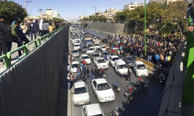 احتجاجات إيران: مساعدات للمحتاجين واتهام أميركا بالتدخل بشؤون البلاد