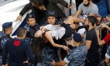 الانتفاضة اللبنانية: إصابات واعتقالات في اشتباك مع قوى الأمن