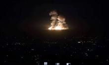 """غارات إسرائيلية ضد """"أهداف إيرانية"""" في سورية"""