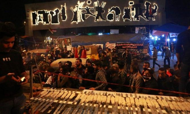 محتجّون عراقيّون يغلقون طرقًا رئيسيّة نحو الحدود الكويتية والميناء
