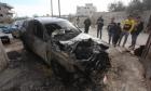 مستوطنون يحرقون عشرات المركبات جنوب وشرق نابلس