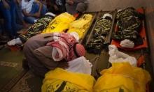 غزة: استشهاد أحد مصابي مجزرة السواركة