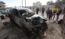 مستوطنون يحرقون عدة مركبات جنوب وشرق نابلس