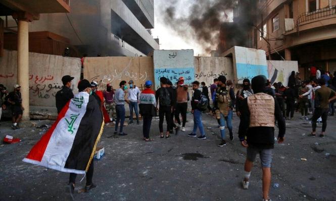 العراق: تفريق الاحتجاجات أمام ميناء أم القصر بالقوة