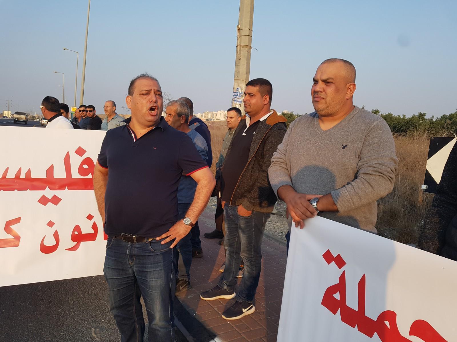 قلنسوة: تواصل الاحتجاج الرافض لإخطارات الهدم بالبلدات العربية