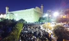 """30 ألف مستوطن يقتحمون """"الإبراهيمي"""" واعتقال 60 فلسطينيا بالضفة"""