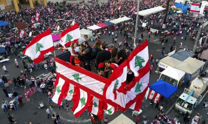 طلبة لبنان لا يتركون ميادين الاعتصام حتى تحقيق المطالب