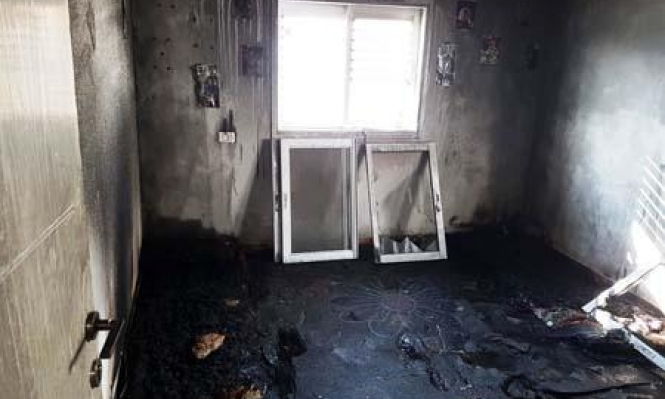 شجار بالمفرقعات بكفرمندا وإضرام النار بمنزل ومركبة برهط