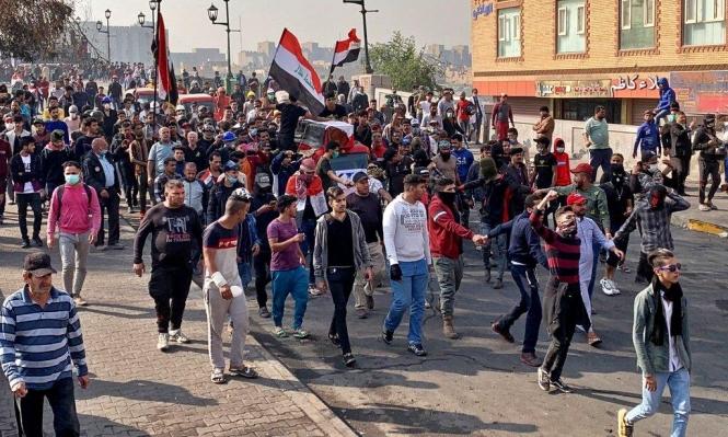 العراق: مقتل ستة متظاهرين وتصاعُد الاحتجاجات