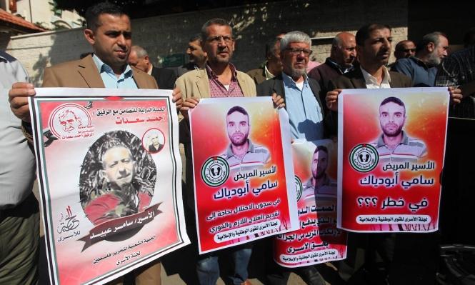 تحذيرات من تدهور الوضع الصحي للأسير سامي أبو دياك