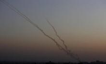 الجيش الإسرائيلي: إطلاق قذيفة صاروخية من غزة