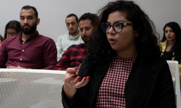 """""""الروزنا"""" تعرض فيلم """"نائلة والانتفاضة"""" في الدوحة"""