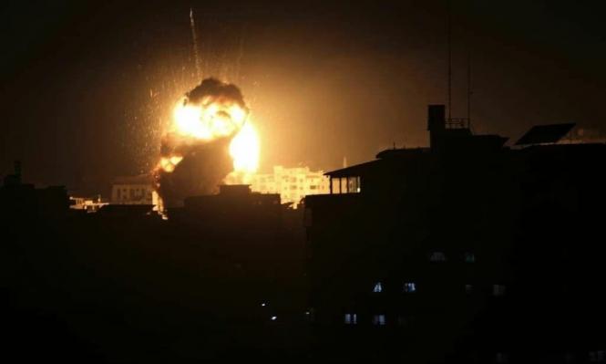 طائرات الاحتلال تقصف في قطاع غزة