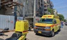 مصرع عامل سقط عن ارتفاع بورشة بناء وسط البلاد