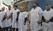"""مئات الأسرى يباشرون إضرابًا تضامنيا مع اعتصام """"المحررين"""""""