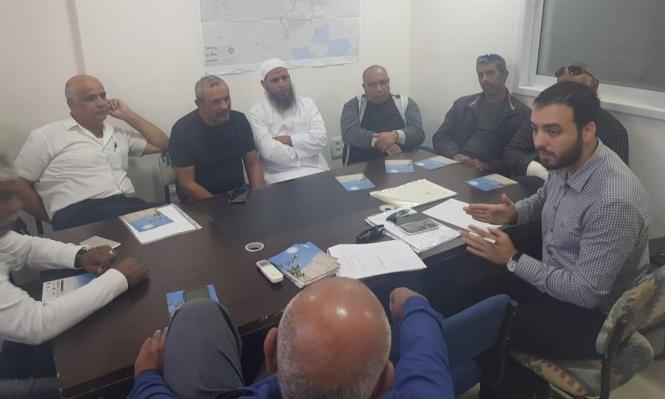 اجتماع بالنّقب لبحث قضايا لمّ الشمل وسحب الجنسية من العرب