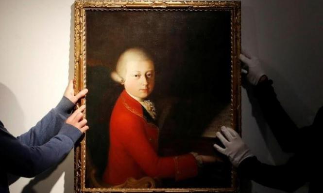 4 ملايين يورو ثمنًا للوحة للموسيقار النمساوي موتسارت!