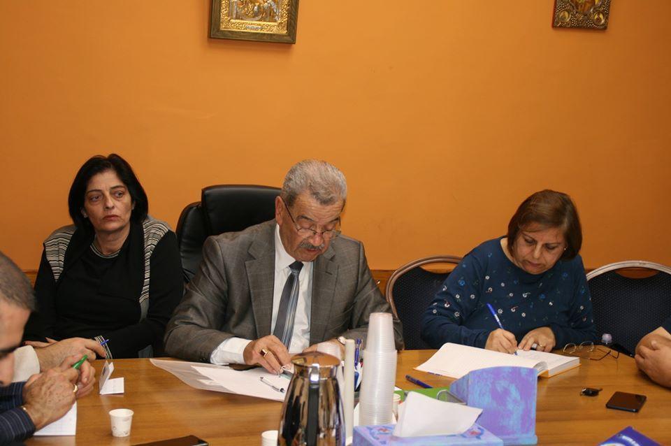 الناصرة: انتخاب بسيم عصفور رئيسا لمجلس الطائفة الأرثوذكسية