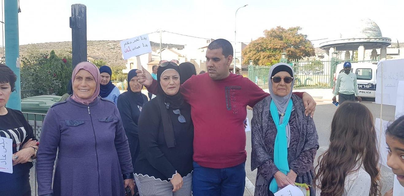طرعان: وقفة احتجاجية ضد العنف والجريمة