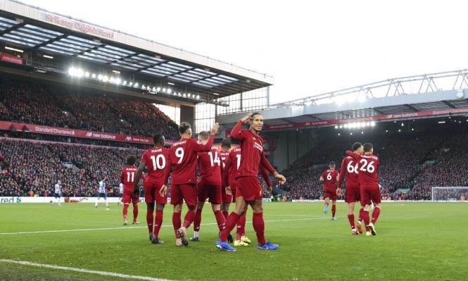 ليفربول يبتعد بالصدارة بفوزه على برايتون