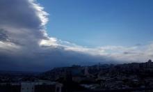 حالة الطقس: غائم جزئيا بالنهار وماطر ليلا