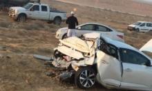 النقب: وفاة شاب متأثرًا بإصابته في حادث طرق