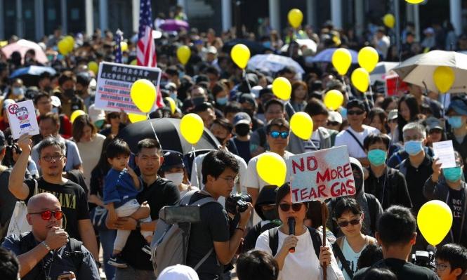 بعد تهدئة قصيرة: المتظاهرون بهونغ كونغ يعودون للشوارع