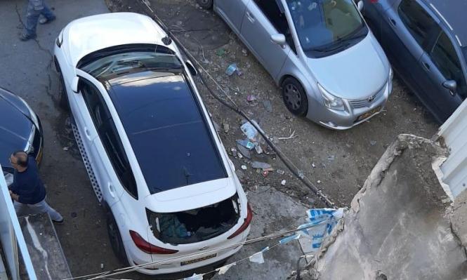 بلدية أم الفحم تستنكر  الاعتداء على سيارة إحدى موظفاتها
