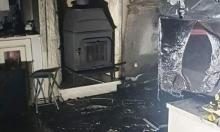 جولس: إصابة امرأة في حريق داخل منزل