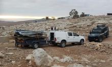 هدم وتشريد بمضارب البدو بالقدس واعتقالات بالضفة