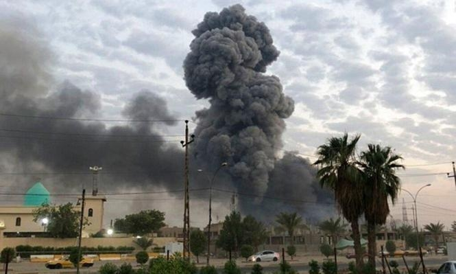 أنباء عن قصف موقع إيراني على الحدود العراقية السورية