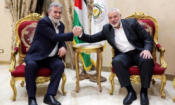 هنية والنخالة بحثا بالقاهرة العلاقات الإستراتيجية بين حماس والجهاد