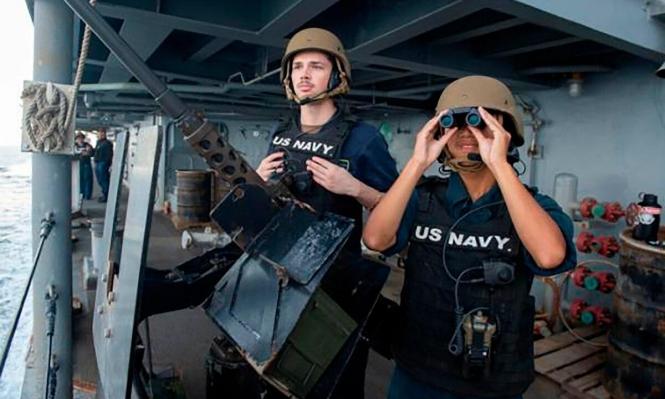 البحرية الأميركية تعترض شحنة صواريخ موجهة إيرانية في طريقها لليمن