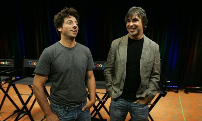 """مؤسسا """"جوجل"""" يتنحيان ليلعبا دور """"الأبوين الفخورين"""""""