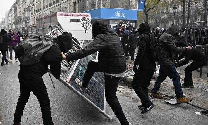 شلل نصفيّ تعيشه فرنسا نتيجة إضراب النقابات العماليّة