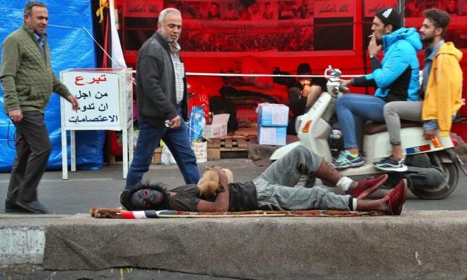 العراق: الاعتداءات على المتظاهرين مستمرّة... بالسكاكين هذه المرّة