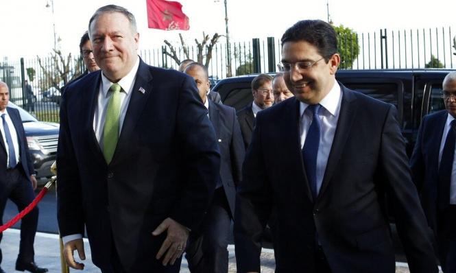 موظف أميركي: التطبيع مع إسرائيل لم يطرح بلقاءات بومبيو بالمغرب