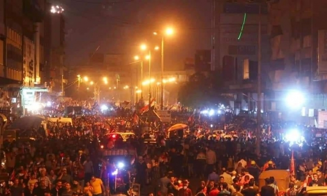 """بغداد: قتلى بإطلاق نار من مسلحين """"مجهولين"""" على المتظاهرين"""