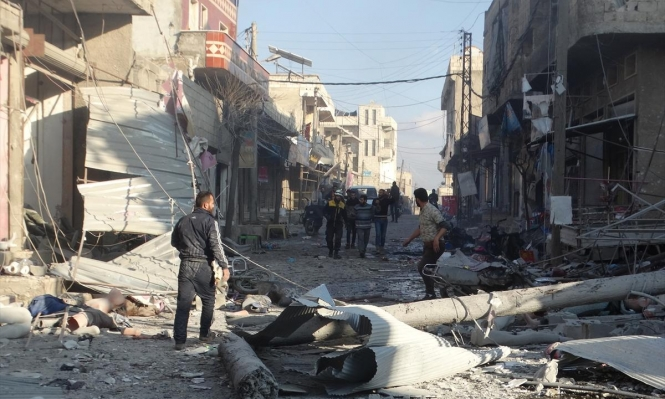 إدلب: مقتل 11 مدنيا في قصف للنظام السوري وروسيا