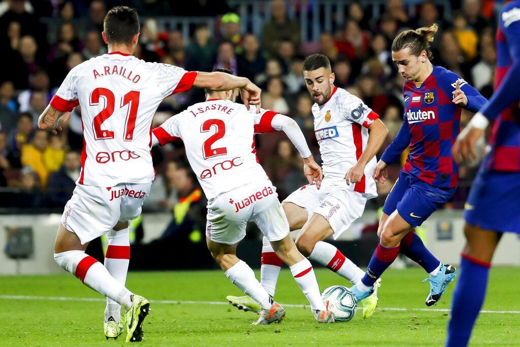 هاتريك ميسي يقود برشلونة للفوز على مايوركا