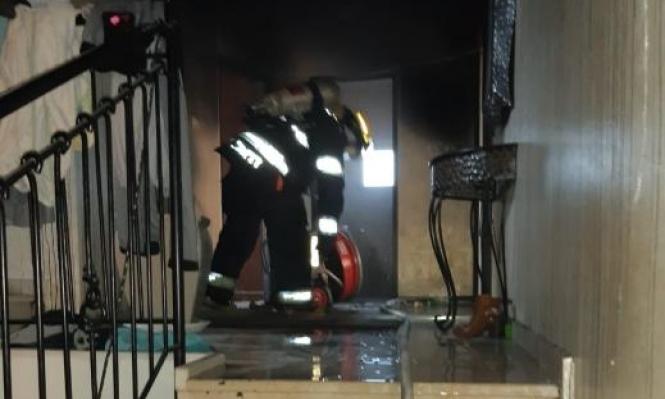 باقة الغربية: مدفأة تتسبب بحريق في منزل