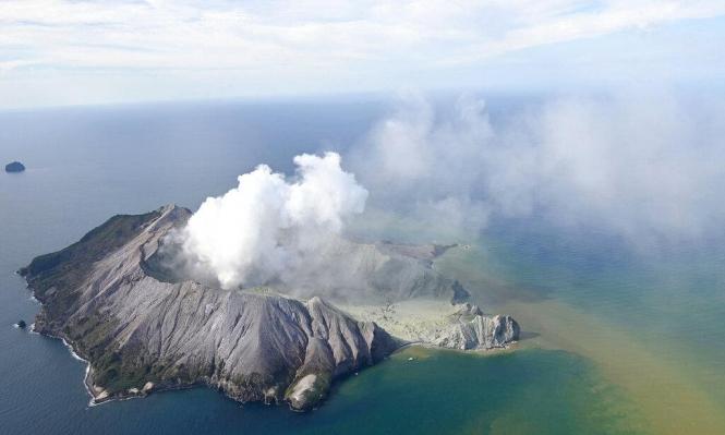 نيوزيلندا: مقتل 5 أشخاص وإصابة العشرات بثوران بركان
