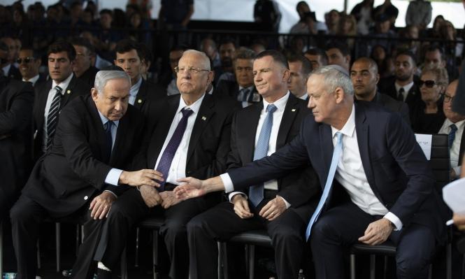 استطلاع: المشتركة تحافظ على مقاعدها ولا حسم بين نتنياهو وغانتس
