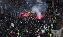 احتجاجات في عدّة مناطق بفرنسا واستمرار الإضرابات